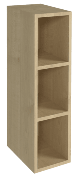 Горен кухненски шкаф B 15x72 отворен